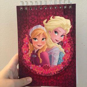 Elsa and Anna Disney Frozen Journal